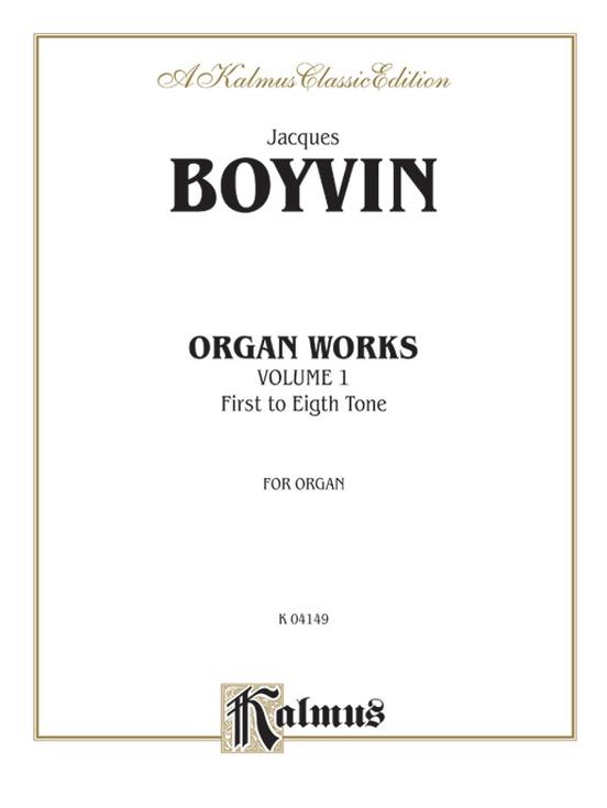 Organ Works, Volume I
