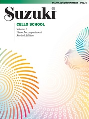 Suzuki Cello School Piano Acc., Volume 6 (Revised)