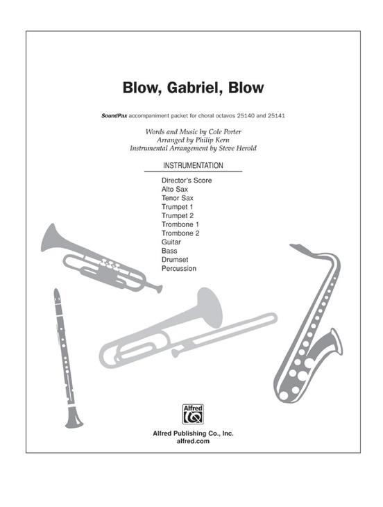 Blow, Gabriel, Blow