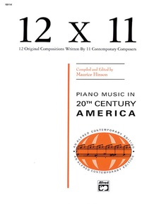 12 x 11: Piano Music of 20th Century America