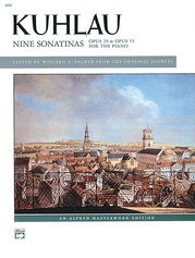 Kuhlau: 9 Sonatinas, Opp. 20 & 55