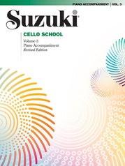 Suzuki Cello School Piano Acc., Volume 3 (Revised)