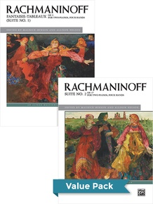 Rachmaninoff Suites 1-2 (Value Pack)