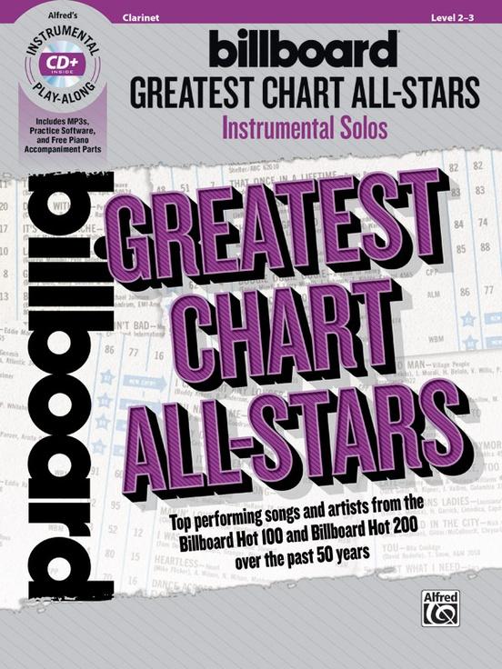 ビルボード・グレーテスト・チャート・オールスターズ(クラリネット)【Billboard Greatest Chart All-Stars】