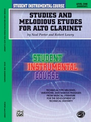 Student Instrumental Course: Studies and Melodious Etudes for Alto Clarinet, Level I