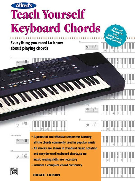 Alfreds Teach Yourself Keyboard Chords Keyboardpiano Book