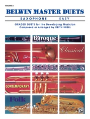 Belwin Master Duets (Saxophone), Easy Volume 2