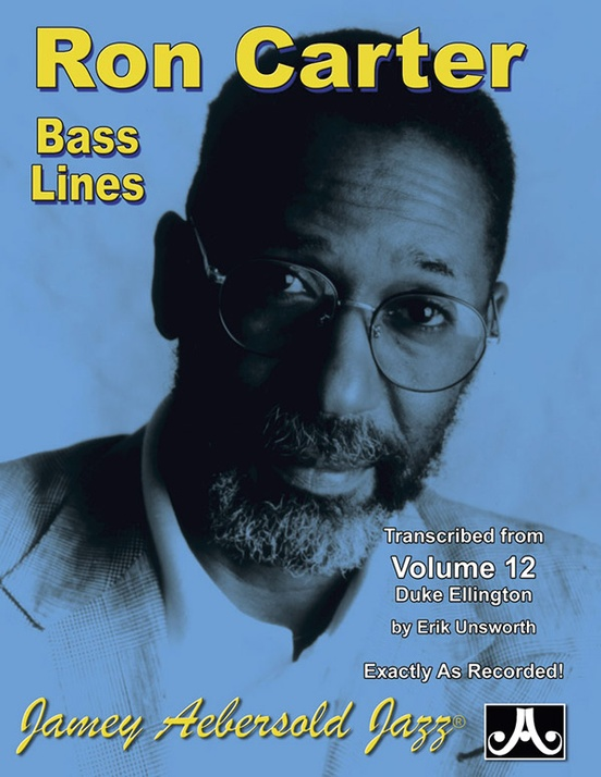 Ron Carter Bass Lines, Vol  12