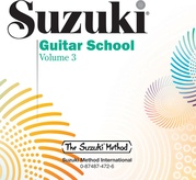 Suzuki Guitar School CD, Volume 3