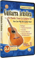 2 in 1 Bilingual: Guitarra Acústica Vol. 2