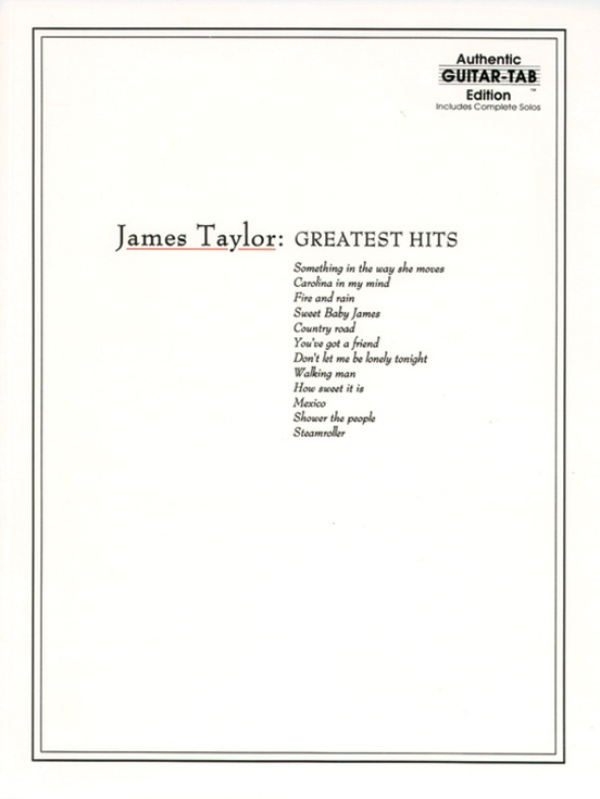 James Taylor: Greatest Hits