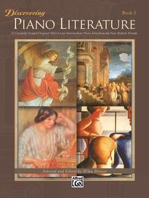 Discovering Piano Literature, Book 3
