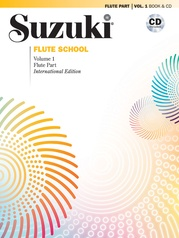 Suzuki Flute School International Edition Flute Part and CD, Volume 1