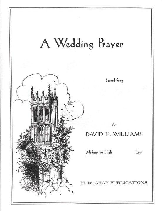 A Wedding Prayer