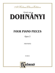 Four Piano Pieces, Opus 2