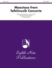 Maestoso (from Tafelmusik Concerto)
