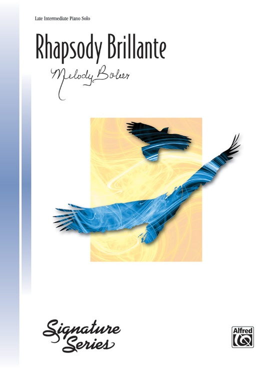Rhapsody Brillante L//intermediate Melody pf; Bober Piano Solo 29138