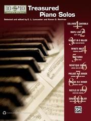 10 for 10 Sheet Music: Treasured Piano Solos