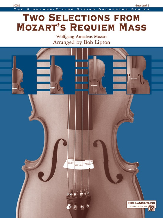 Two Selections from Mozart's Requiem Mass