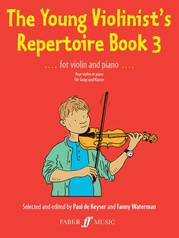 The Young Violinist's Repertoire, Book 3