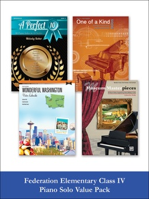 Federation Elementary Class IV Piano Solo (Value Pack)