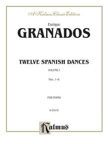 Twelve Spanish Dances, Volume I