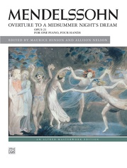 Mendelssohn, Overture to A Midsummer Night's Dream, Opus 21