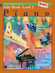 Alfred's Basic Piano Library: Top Hits! Solo Book 2