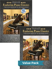 Exploring Piano Classics Preparatory Level (Value Pack)