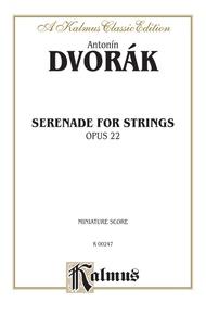 Serenade for Strings, Opus 22