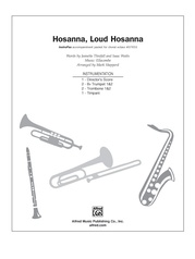 Hosanna, Loud Hosanna
