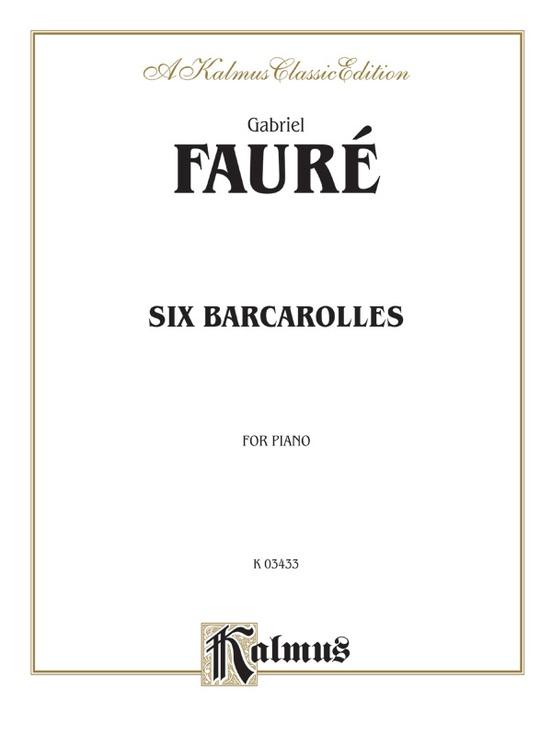 Six Barcaroles