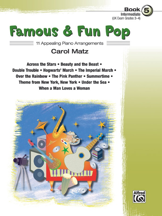 Famous & Fun Pop, Book 5