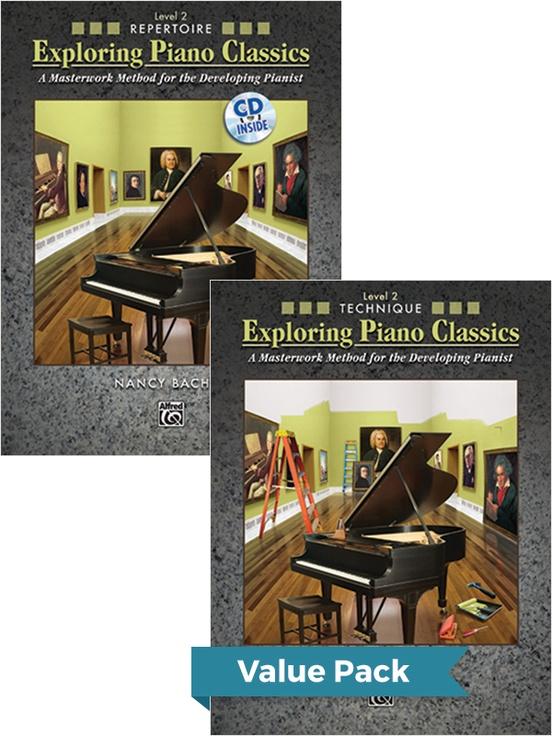 Exploring Piano Classics Level 2 (Value Pack)