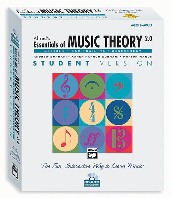 Alfred's Essentials of Music Theory: Software, Version 2.0 CD-ROM Student Version, Volume 1
