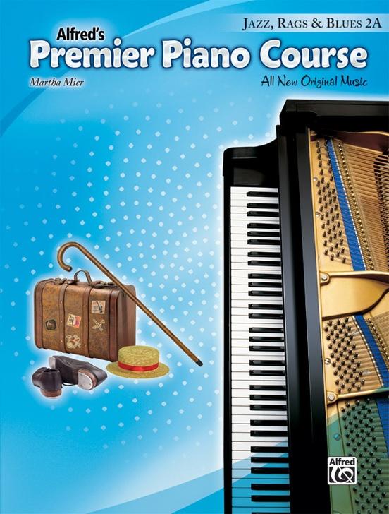 Premier Piano Course, Jazz, Rags & Blues 2A
