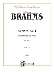 Sonata No. 1 in F Minor, Opus 120