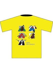 Taste the Classics! T-Shirt: Yellow (Children's Small)