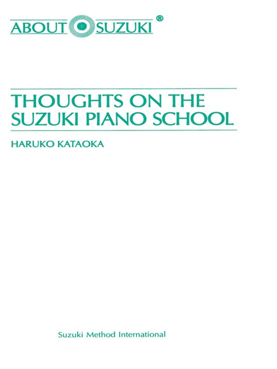 Thoughts on the Suzuki Piano School