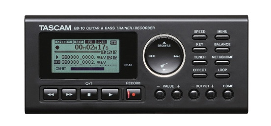 Tascam GB-10 Guitar-Bass Trainer-Recorder