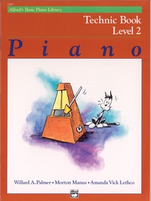 Alfred's Basic Piano Library: Technic Book 2