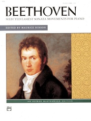 Beethoven: Selected Intermediate to Early Advanced Piano Sonata Movements, Volume 2