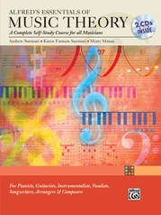 Alfred's Essentials of Music Theory: A Complete Self-Study Course for All Musicians