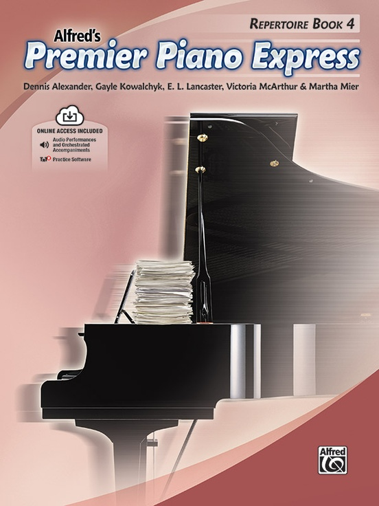 Premier Piano Express, Repertoire Book 4