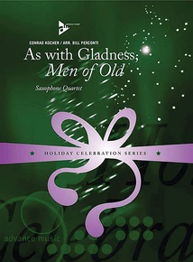 As with Gladness, Men of Old