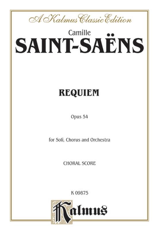 Requiem, Opus 54