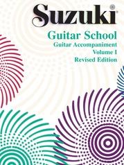 Suzuki Guitar School Guitar Acc., Volume 1 (Revised)