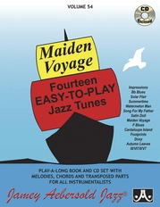 Jamey Aebersold Jazz, Volume 54: Maiden Voyage -- Fourteen Easy-to-Play Jazz Tunes