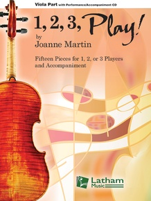 1, 2, 3, Play! - Viola Part with CD
