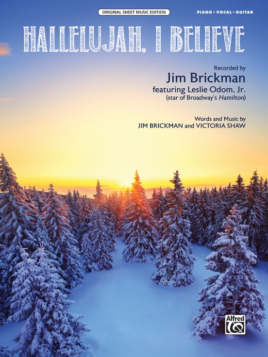 Hallelujah I Believe Pianovocalguitar Sheet Jim Brickman
